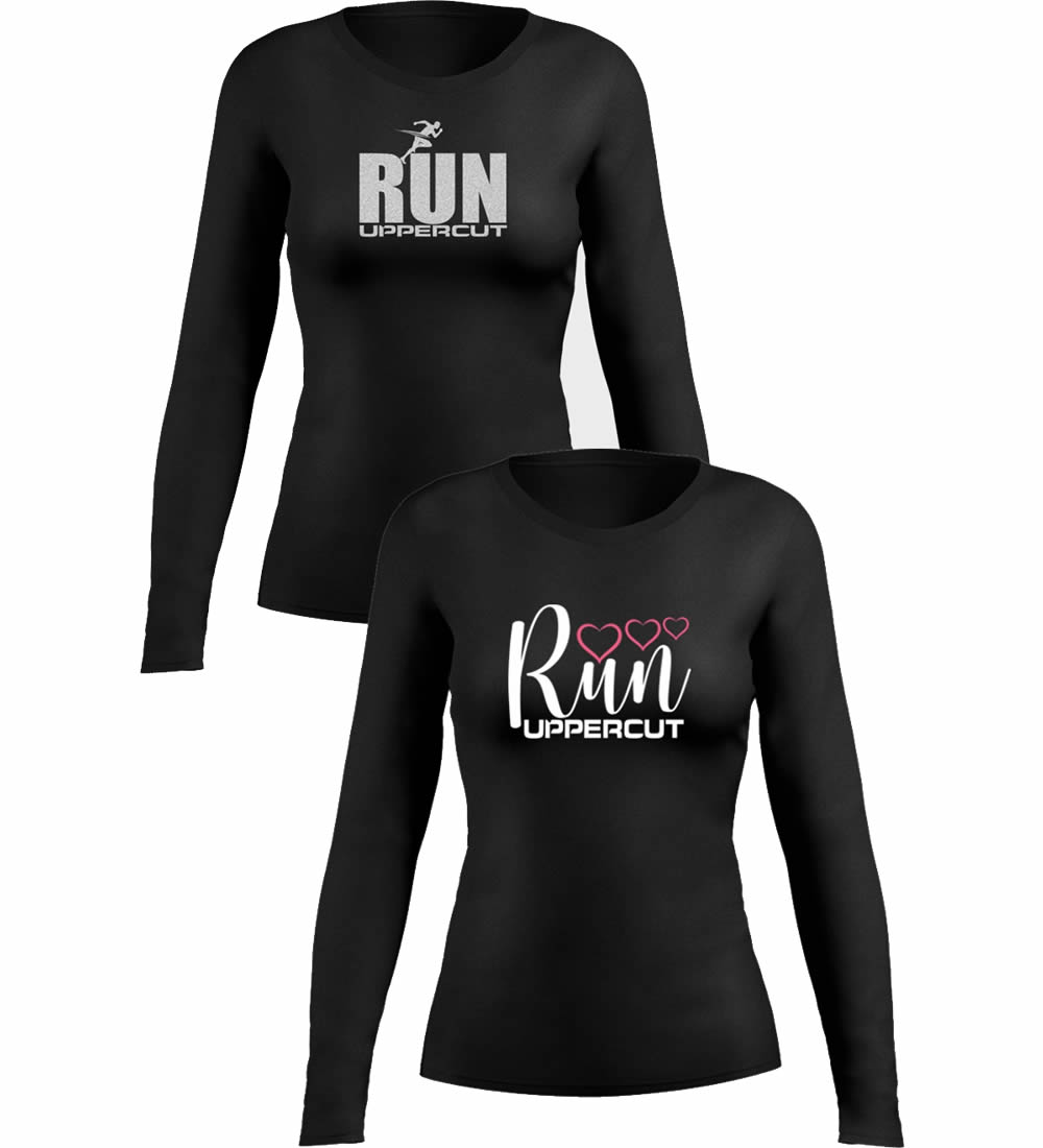 Kit 2 Camisas UV-50+ - Corrida Running Feminina - Kt02