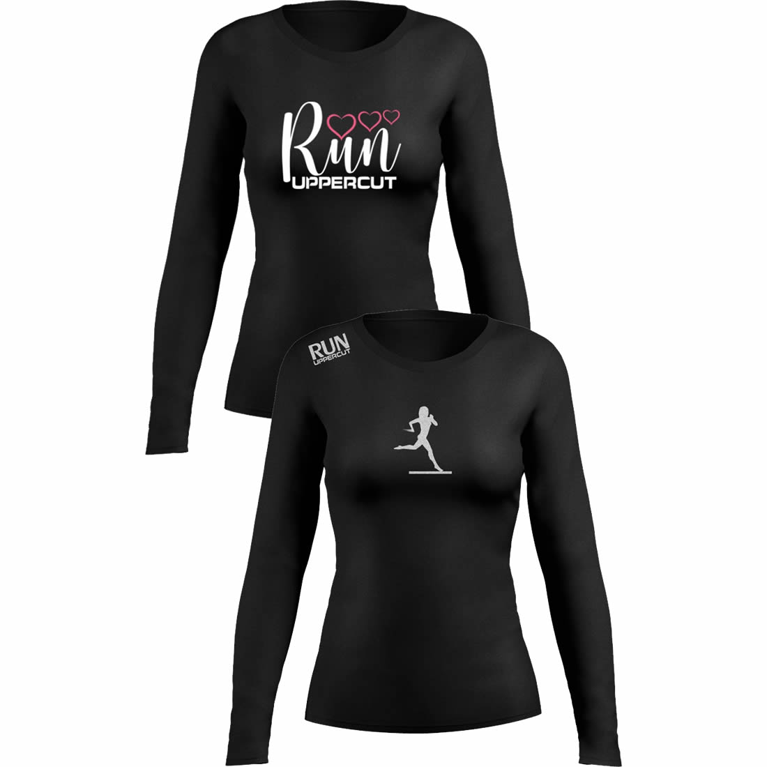 Kit 2 Camisas UV-50+ - Corrida Running Feminina - Kt05