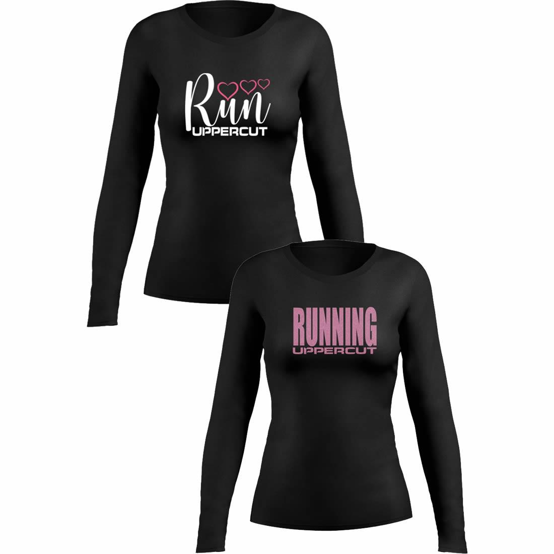 Kit 2 Camisas UV-50+ - Corrida Running Feminina - Kt08