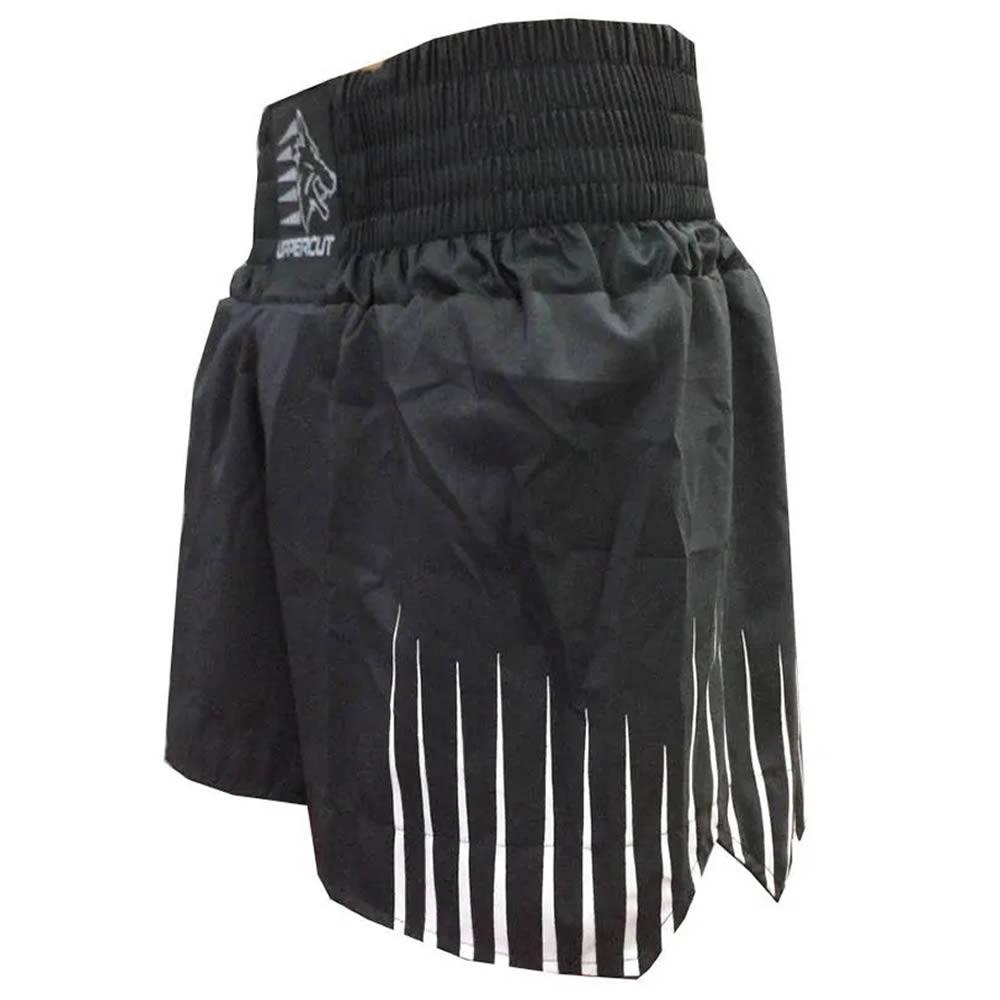 Short Muay Thai Kickboxing Claw Garras - Todo Preto