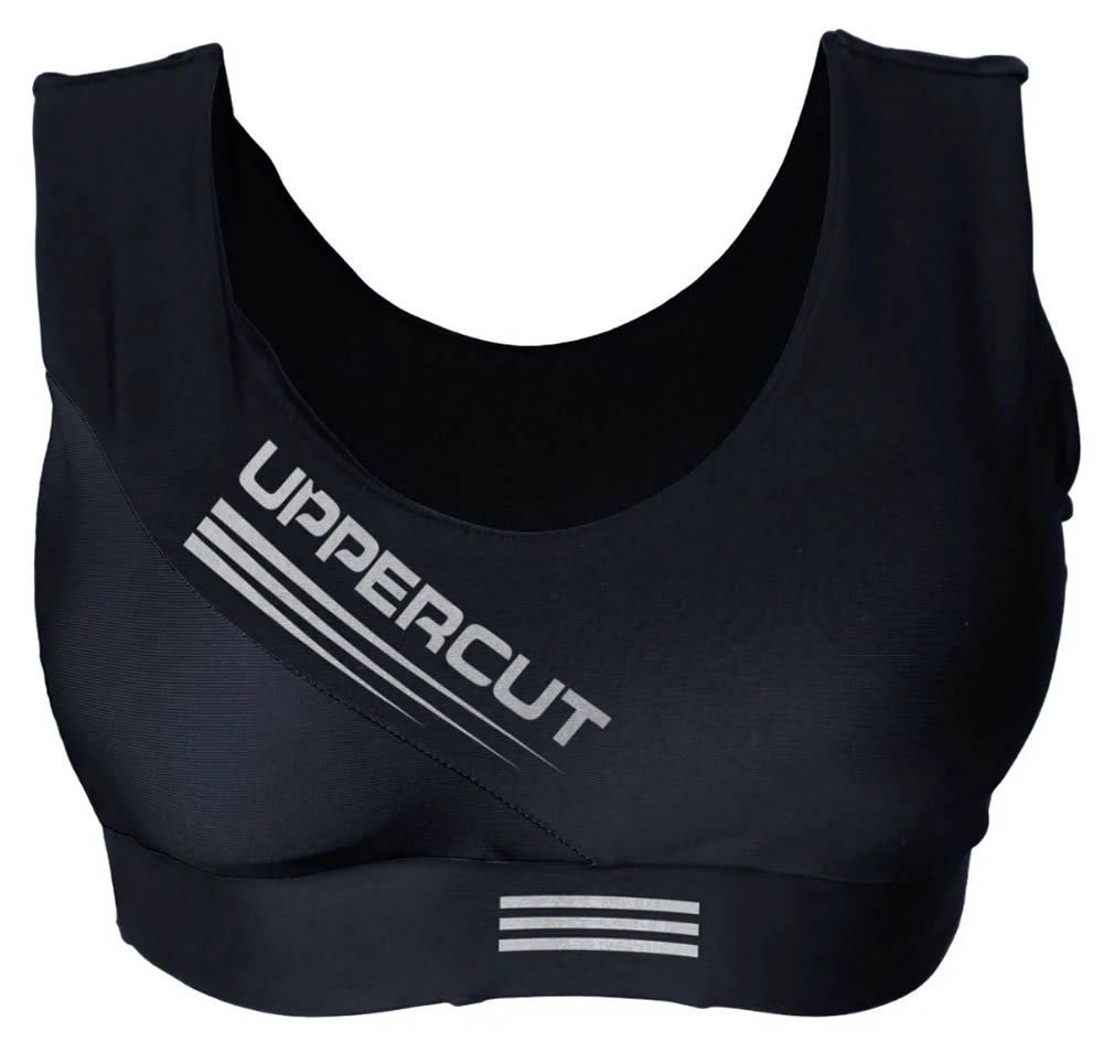 Top Feminino - Basic com Bojo - Preto - Uppercut