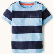 Camiseta Listrada Azul - Tommy Hilfiger®