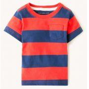 Camiseta Listrada Vermelha - Tommy Hilfiger®