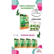 Kit 4 Caixas de Adesivo Repelente - Sai Mosquito