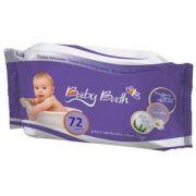 Lenços Umedecidos a Base D'agua 72 un - Baby Bath