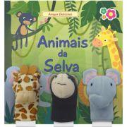Livro Animais da Selva com Dedoches - Dican
