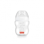 Mamadeira First Moments Clássica Neutra 150Ml (Fluxo Lento 0m+) - Fisher-Price