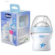 Mamadeira Step Up 0m+ 150 ml - Azul- Chicco