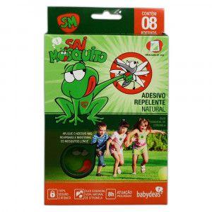 Adesivo Repelente Natural - Sai Mosquito