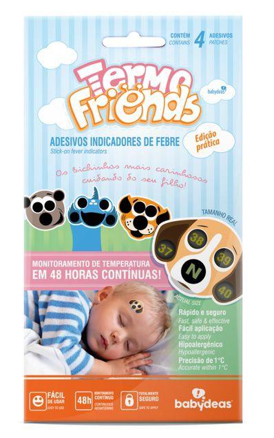 Adesivo Termômetro - Termo friends