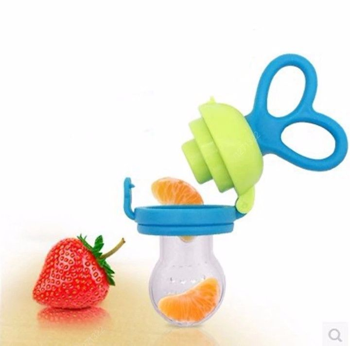Alimentador Porta Frutinha Silicone - Buba