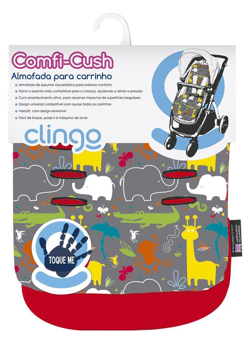 Almofada para Carrinho Confi Cush - Jungle Boogie - Clingo