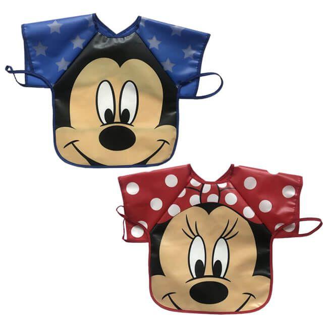 Babador Avental Mickey e Minnie - Disney