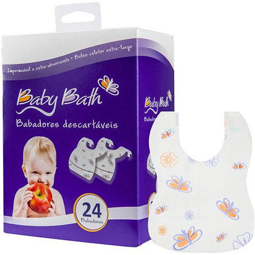 Babador Descartável - Baby Bath