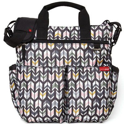 Bolsa Maternidade Duo Signature Arrows - Skip Hop