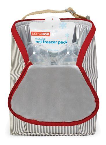Bolsa Térmica Double Bottle Bag (Grab & Go) Listrado - Skip Hop
