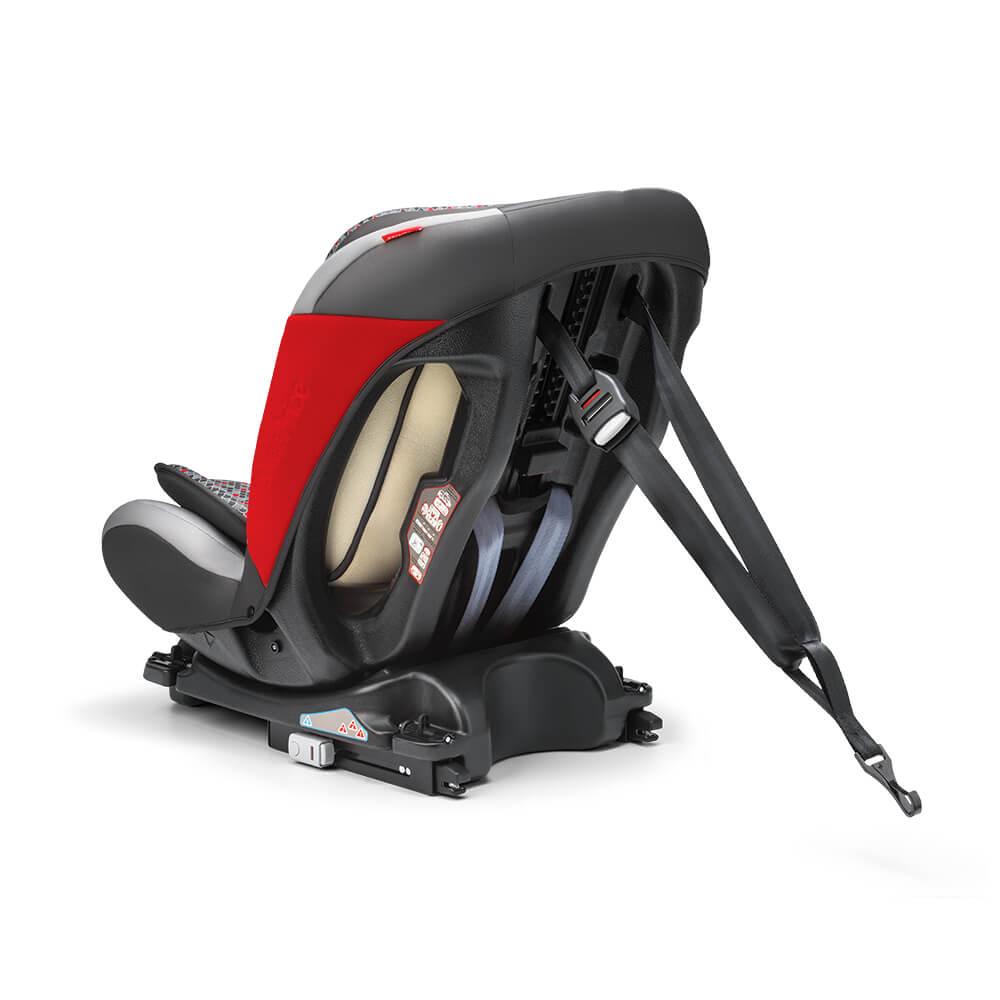 Cadeira para Auto All Stages - 0-36 Kg com ISOFIX - Preta/Vermelha - Fisher Price