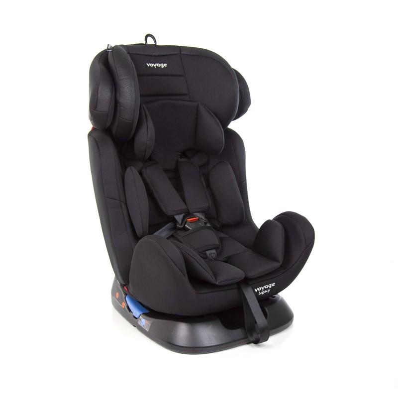 Cadeira para Auto Legacy Preta - 0 a 36kg - Voyage