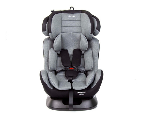 Cadeira para Auto Legacy Preta/Cinza - 0 a 36kg - Voyage