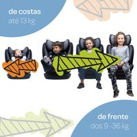 Cadeira para Auto Unique Preta 0 a 36kg - Cosco
