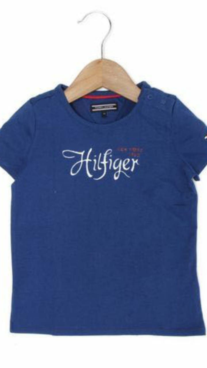 Camiseta Azul Escura Feminina - Tommy Hilfiger®