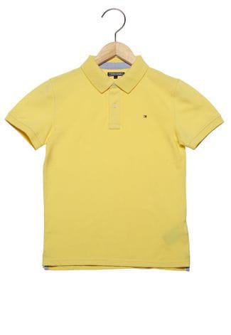 Camiseta Gola Polo Amarela - Tommy Hilfiger®