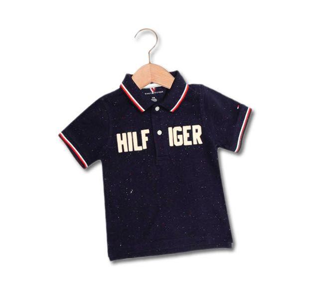 Camiseta Gola Polo Azul Escura - Tommy Hilfiger®