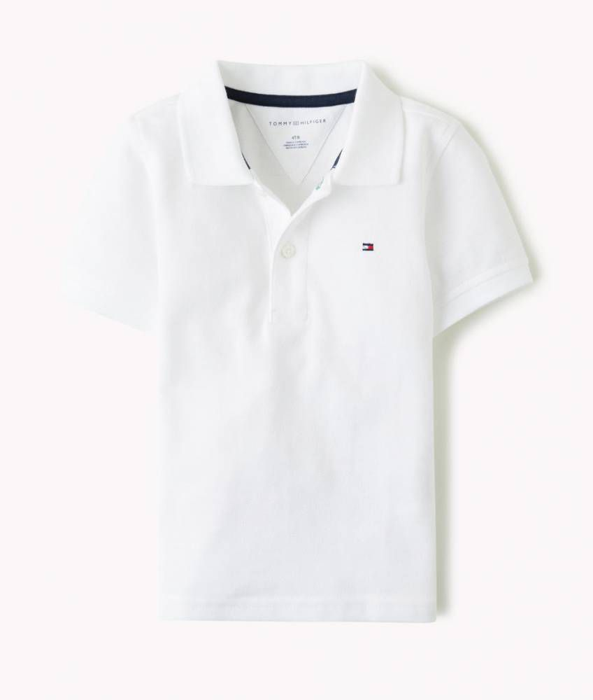 Camiseta Gola Polo Branca - Tommy Hilfiger®