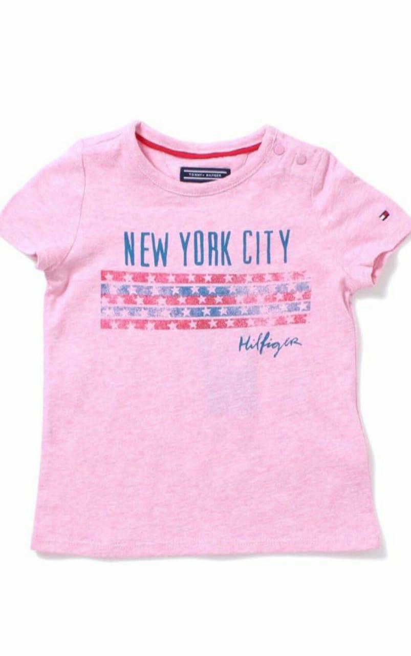 Camiseta Rosa Feminina - Tommy Hilfiger®