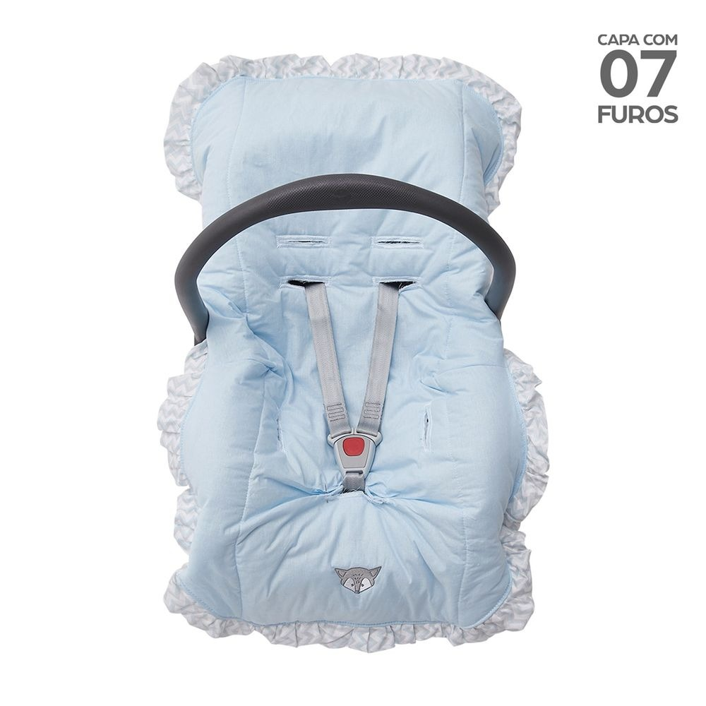 Capa Para Bebe Conforto Acolchoada - Papi