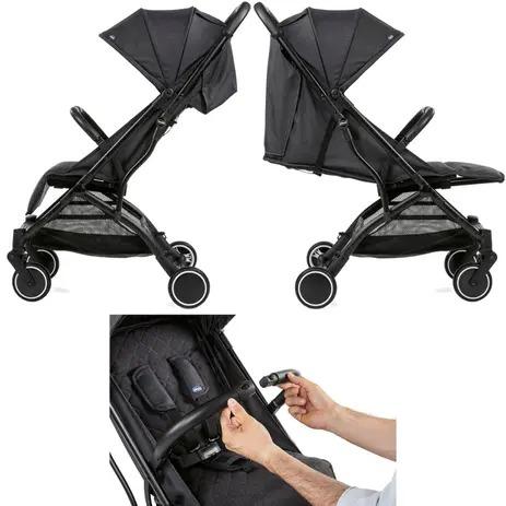 Carrinho de Bebê Trolley Me Preto - Chicco