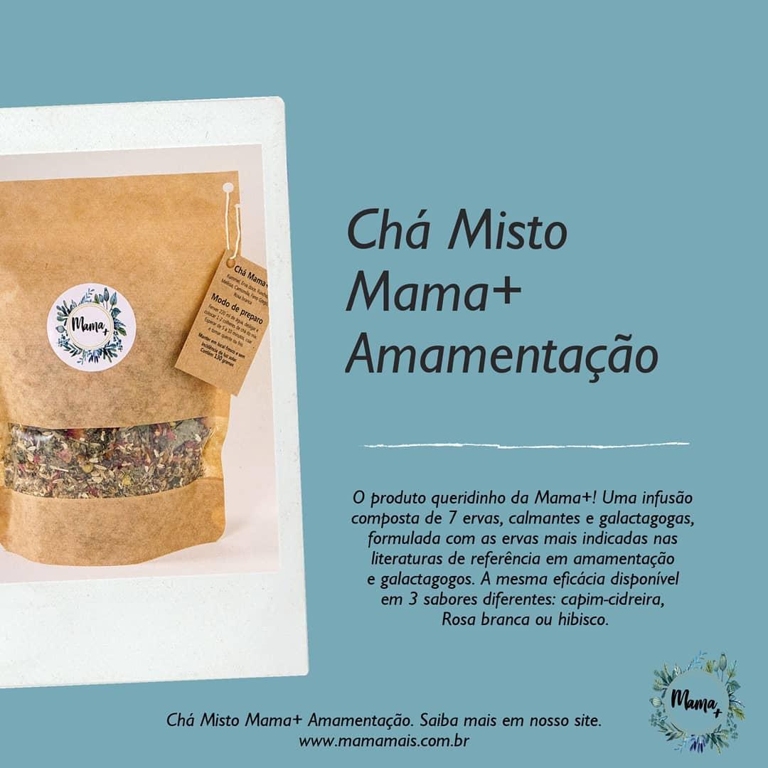 Chá Misto Amamentação Rosa Branca - Mama +
