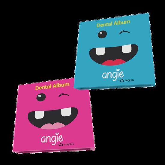 Dental Album Porta Dentes de Leite - Angie