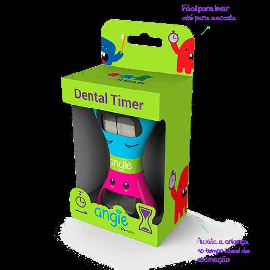 Dental Timer Ampulheta para Marcar Tempo de Escovação - Angie