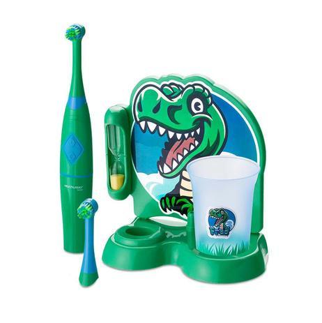 Escova Dental Elétrica Rotacional Dino - Multilaser