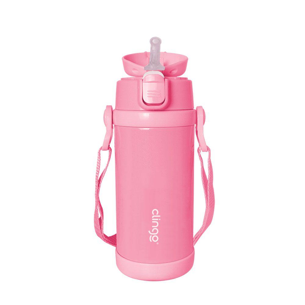 Garrafa Térmica Premium Rosa - Clingo