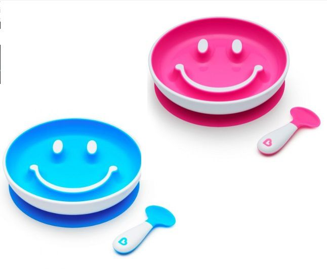 Kit Prato Smile e Colher - Munchkin