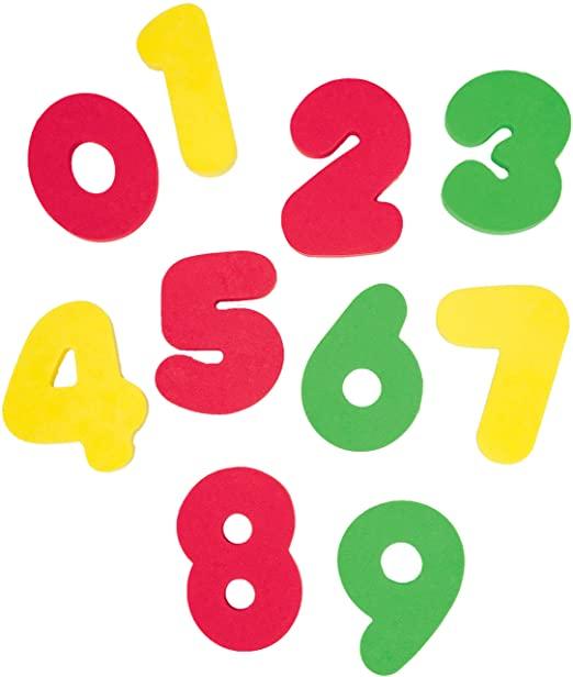 Letras e Números para Banho - Buba