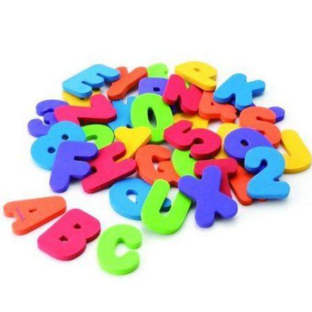 Letras e Números para Banho - Munchkin