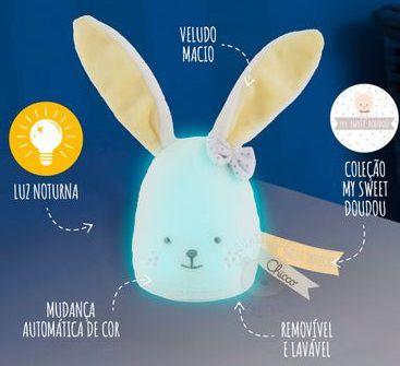 Luminária Coelhinho Noites Mágicas - Chicco