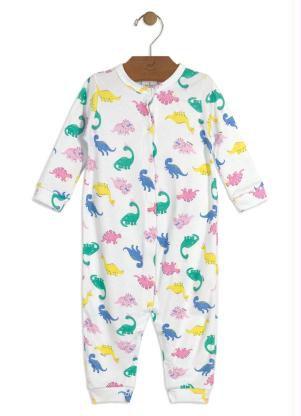 Macacão Dino Menina - Up Baby