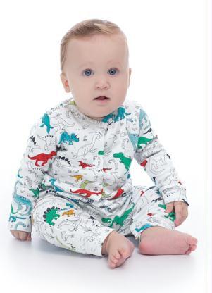 Macacão Dino Menino - Up Baby