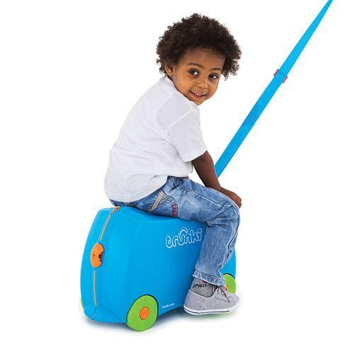 Mala Infantil Trunki Azul - Viagem mais divertida!