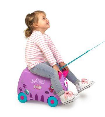 Mala Infantil Trunki Gata - Viagem mais divertida!