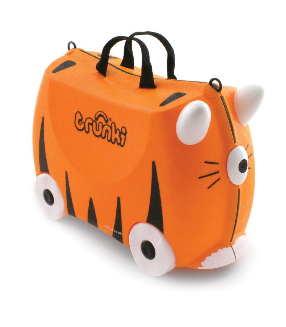 Mala Infantil Trunki Tigre - Viagem mais divertida!