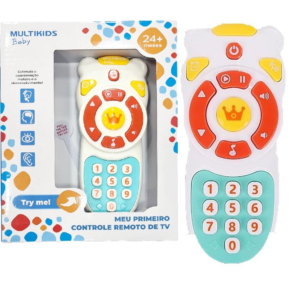 Meu Primeiro Controle Remoto de TV - Multikids