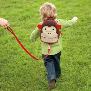Mochila com Cinto Macaco - Skip Hop