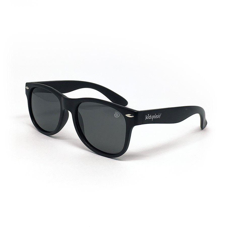 Óculos de Sol Flexível Polarizado e Proteção UV400 - Preto - 4 a 8 anos - Kidsplash