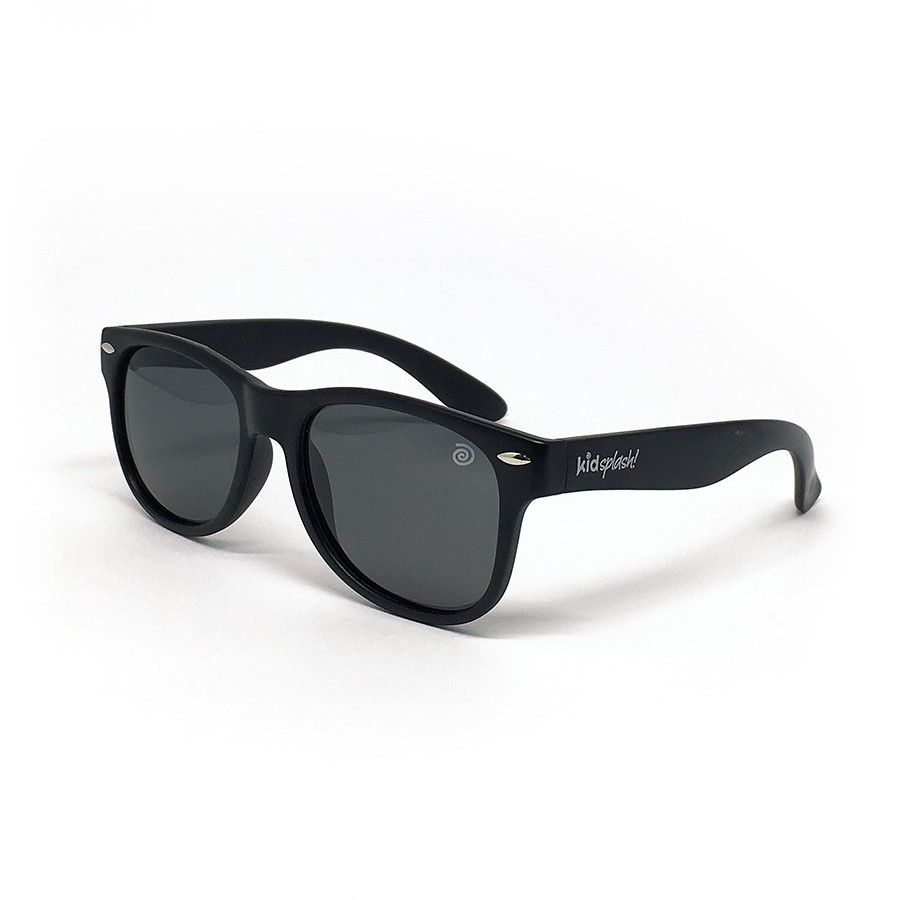 Óculos de Sol Flexível Polarizado e Proteção UV400 - Preto - 6 a 12 anos - Kidsplash