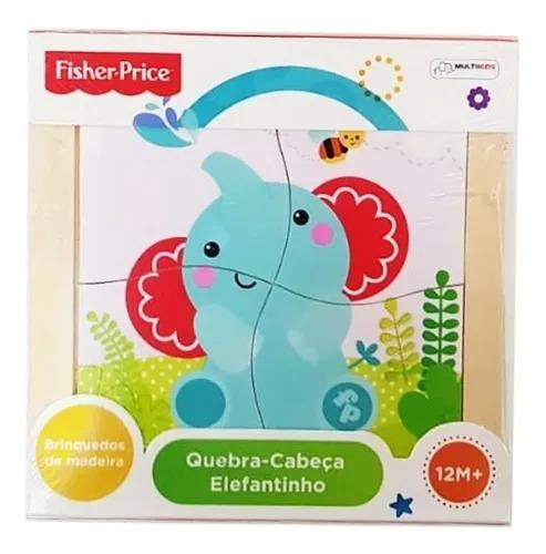 Quebra Cabeça para Bebê - Fisher Price